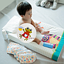 Changing pad small 50x70cm wedged white Oops